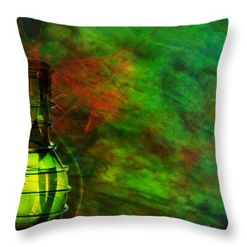 Throw Pillow featuring the mixed media Bugs by Ally  White