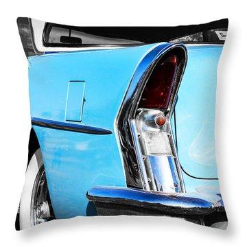 Buick Baby Blue Throw Pillow