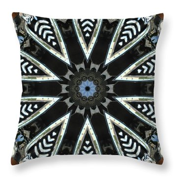 Buick Kaleidoscope Throw Pillow by Victor Montgomery