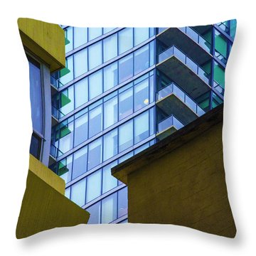 Building Abstract No.1 Throw Pillow