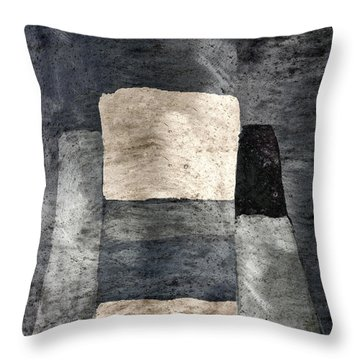 Building Blocks Throw Pillow by Carol Leigh