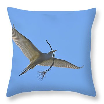 Building Material Throw Pillow by Judith Morris