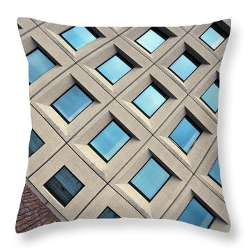 Building Of Windows Throw Pillow