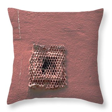 Building Wall Throw Pillow