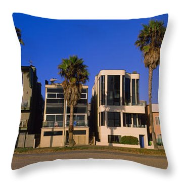 Buildings In A City, Venice Beach, City Throw Pillow by Panoramic Images