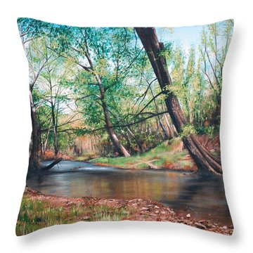 Bull Creek Throw Pillow
