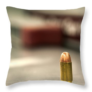 Bullet Art 2 Throw Pillow