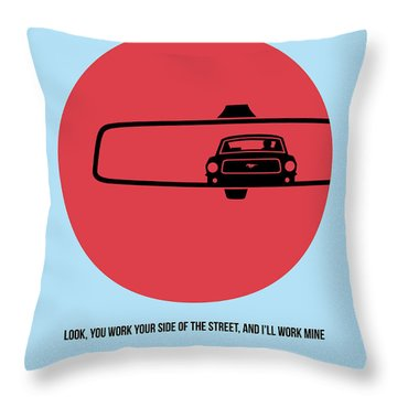 Bullitt Poster 1 Throw Pillow