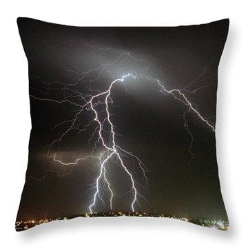 Bunbury Lightning Throw Pillow