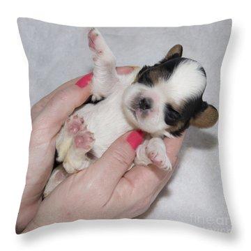 Bundle Of Love Throw Pillow