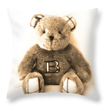 Burberry Bear Throw Pillow