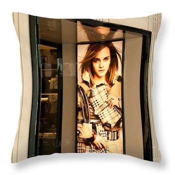 Burberry Emma Watson 01 Throw Pillow