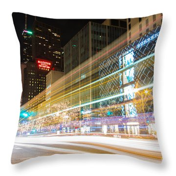 Burberry Zoom Throw Pillow