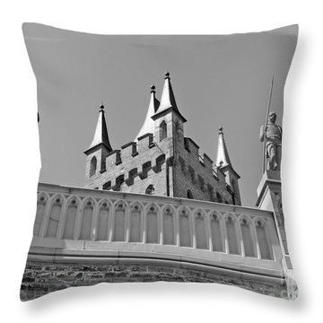 Burg Hohenzollern Throw Pillow by Carsten Reisinger