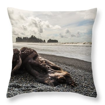 Buried Throw Pillow