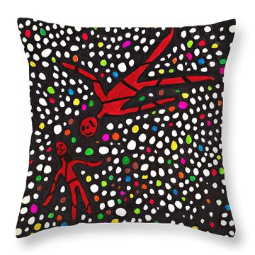Buried Throw Pillow by Sarah Loft