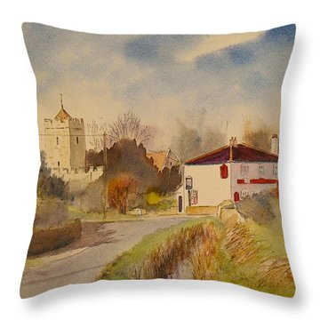 Burmarsh  Kent Uk Throw Pillow