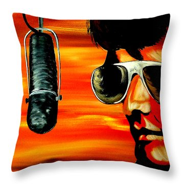Burning Love  Throw Pillow by Mark Moore