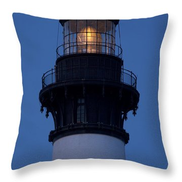 Burning The Midnight Oil  Throw Pillow