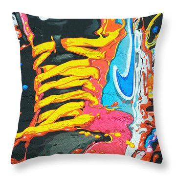 Burning To Do It In Portland Throw Pillow
