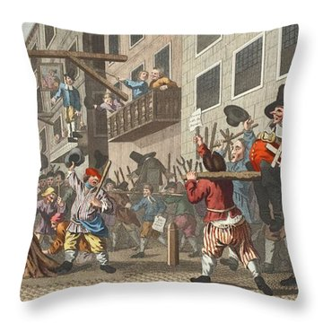 Temple Bar Throw Pillows
