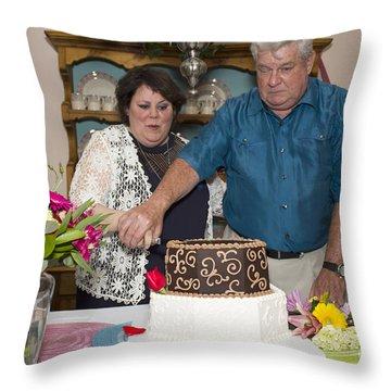Burns 7542 Throw Pillow by Alycia Christine