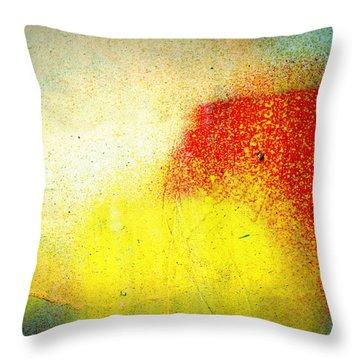 Burst Throw Pillow by Leanna Lomanski