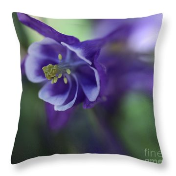 Burst Of Nature Throw Pillow by Mary Lou Chmura