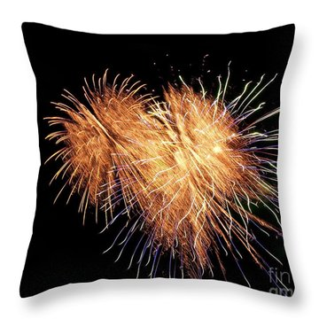 Throw Pillow featuring the photograph Bursting With Love by Eve Spring