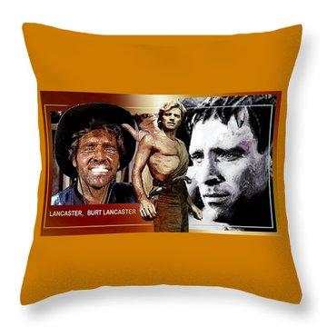 Burt Throw Pillow by Hartmut Jager