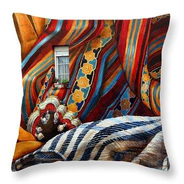 Burulleria Throw Pillow by RicardMN Photography