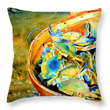 Bushel Of Gold Throw Pillow