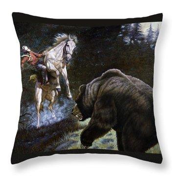 Bushwacked Throw Pillow