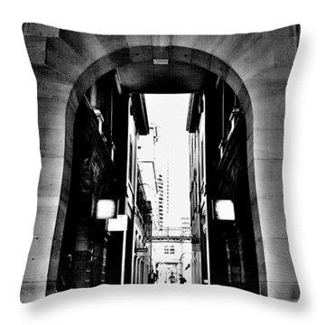 Business Alley - Melbourne - Australia Throw Pillow
