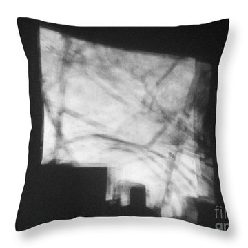But Shadows Upon The Wall Throw Pillow