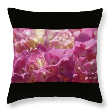 Throw Pillow featuring the photograph Buttercream by Linda Shafer