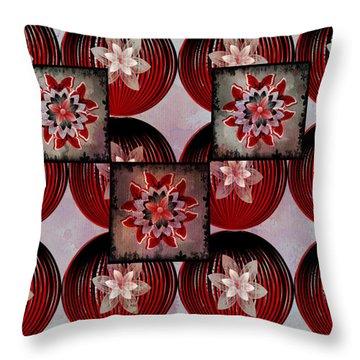 Butterfly Bloomer Throw Pillow