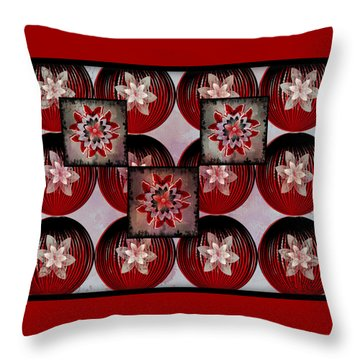 Butterfly Bloomer Throw Pillow