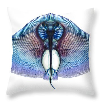 Skeleton Throw Pillows