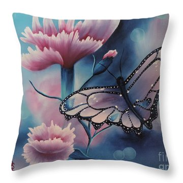 Butterfly Series 6 Throw Pillow