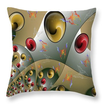 Butterfly Storm Throw Pillow