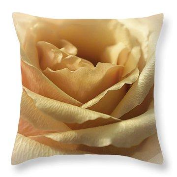Butterscotch Sundae Throw Pillow by Darlene Kwiatkowski