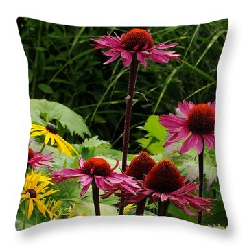 Throw Pillow featuring the photograph Button Up by Natalie Ortiz