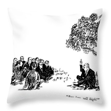 Buy Low, Sell High! Throw Pillow