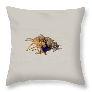 Buzzed Out Throw Pillow