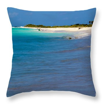 Bvi At Its Best Throw Pillow by Beverly Tabet