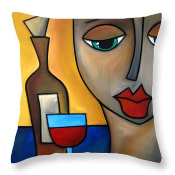 By Myself Throw Pillow by Tom Fedro - Fidostudio