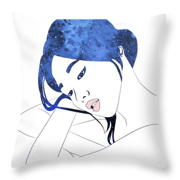 By Starlight Throw Pillow