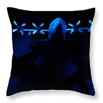 By The Light Of The Twin Moons Throw Pillow by Steve Taylor