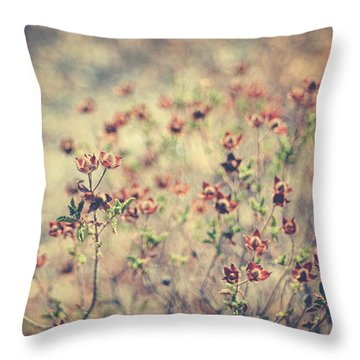 By Your Side Throw Pillow by Taylan Apukovska